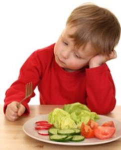 Dziecko - wegetarianin