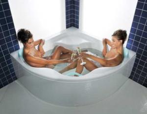Kąpiel pobudza nasze zmysły