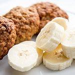 Przepyszne ciasteczka bananowo-owsiane - dieta bezmleczna